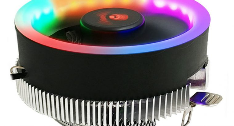 CoolMoon Q2 RGB Led CPU Fan – Q2RGB