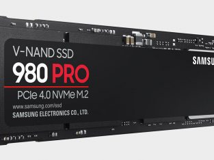 Samsung 980 Pro 500GB PCIe 4.0 MVMe M.2 SSD