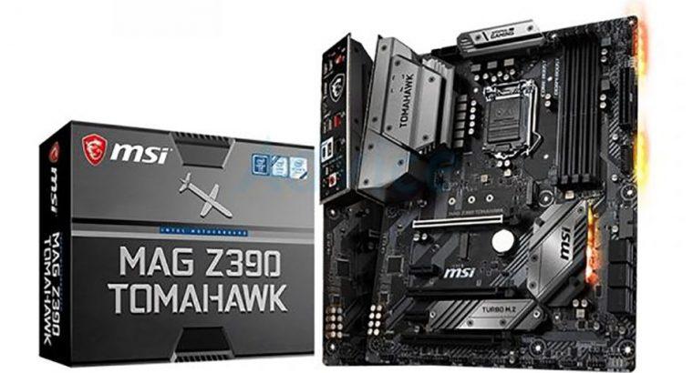 MSI MAG Z390 TOMAHAWK Desktop Motherboard