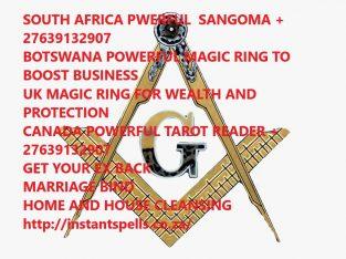 Melbourne NO1 MONEY MAGIC RING +27639132907